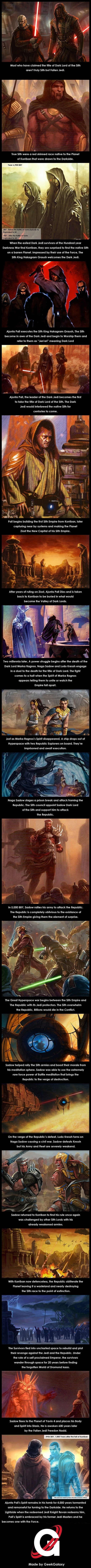 Origins of the Sith