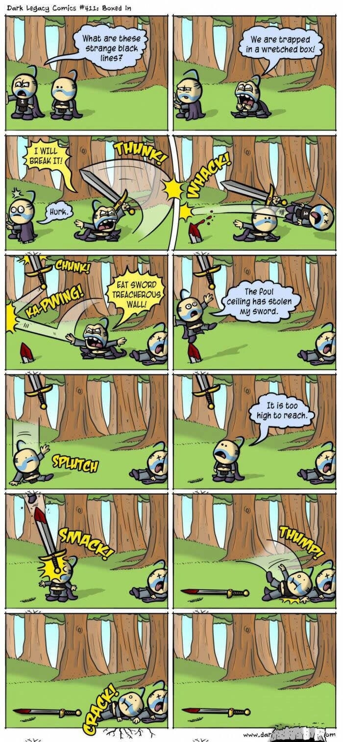 The most confusing comic strip ever
