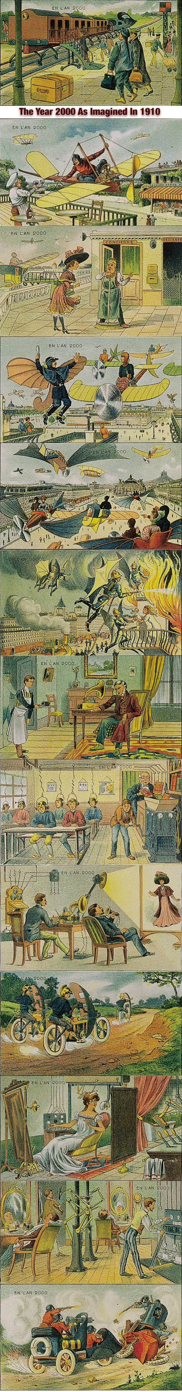 Year 2000 as imagined in 1910