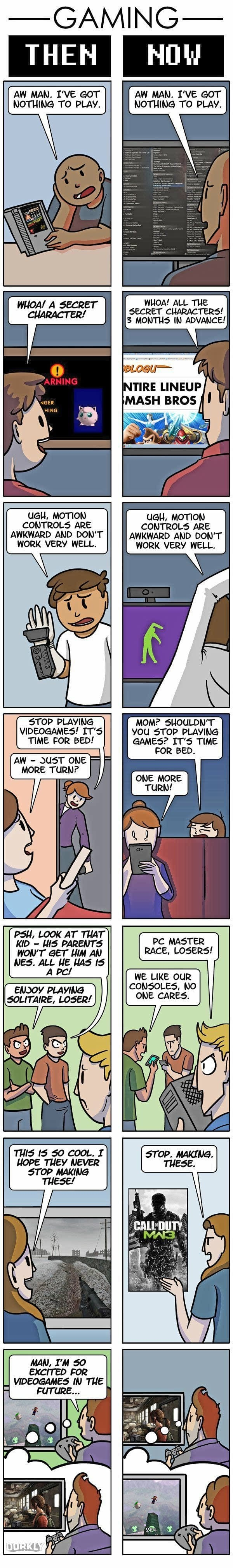 Gaming then & now