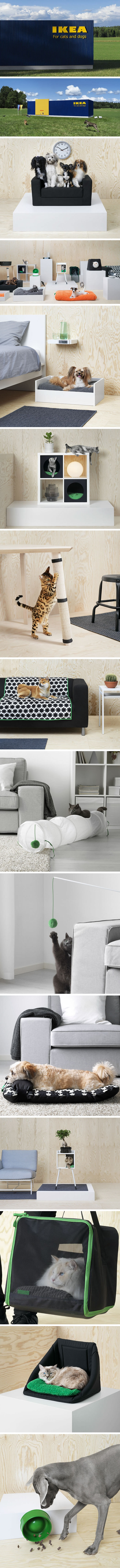 Ikea pet furniture collection just 'purrfect' for animal lovers