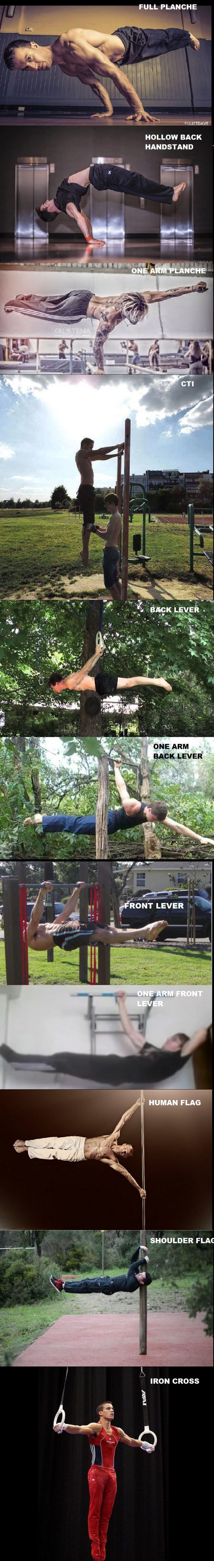 Some calisthenics moves