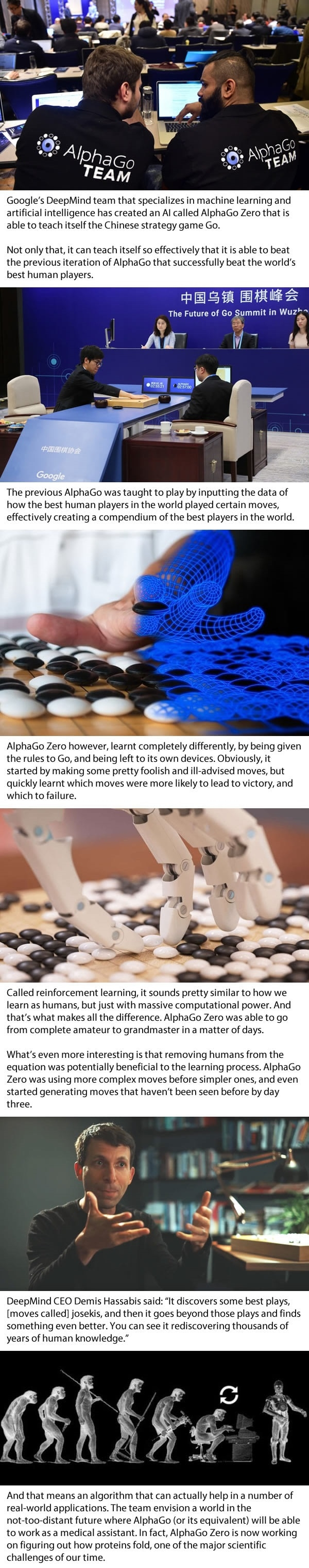 AlphaGo Zero AI teaches itself to play Go better than any human, or other AI