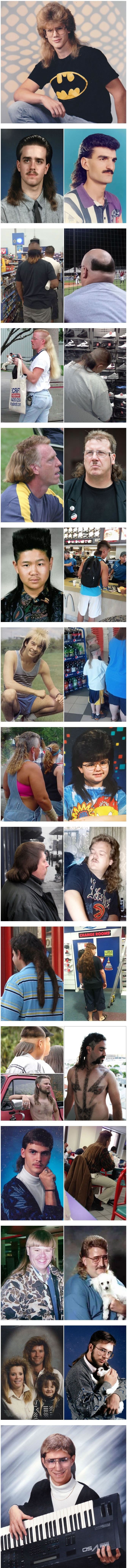 WTF photos prove that mullet is the worst haircut in history