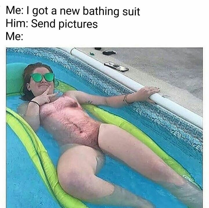 New bathing suit
