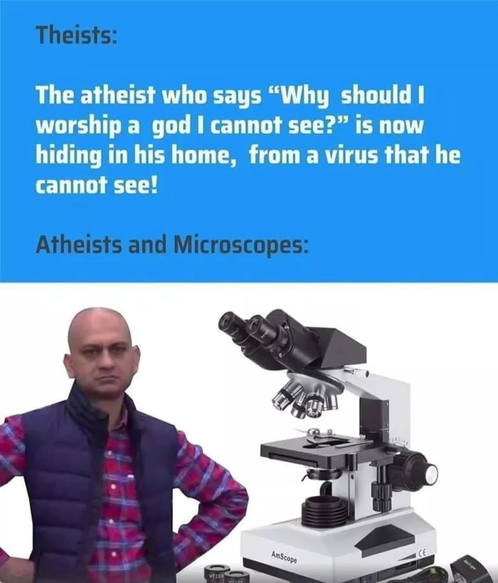 Atheist logic