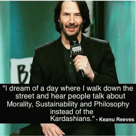 Oh, Keanu