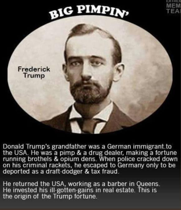 Donald Trump's grandfather
