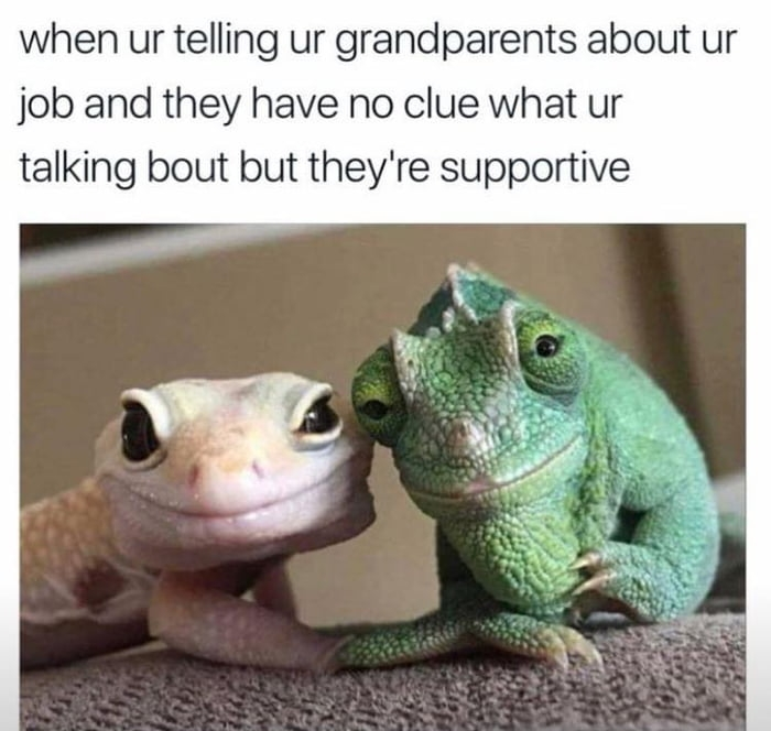 Supportive grandparents
