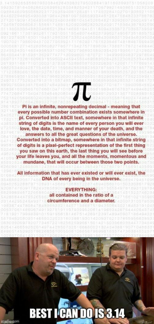 Here's a Pi