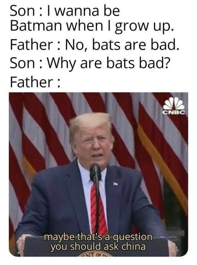 You should ask China