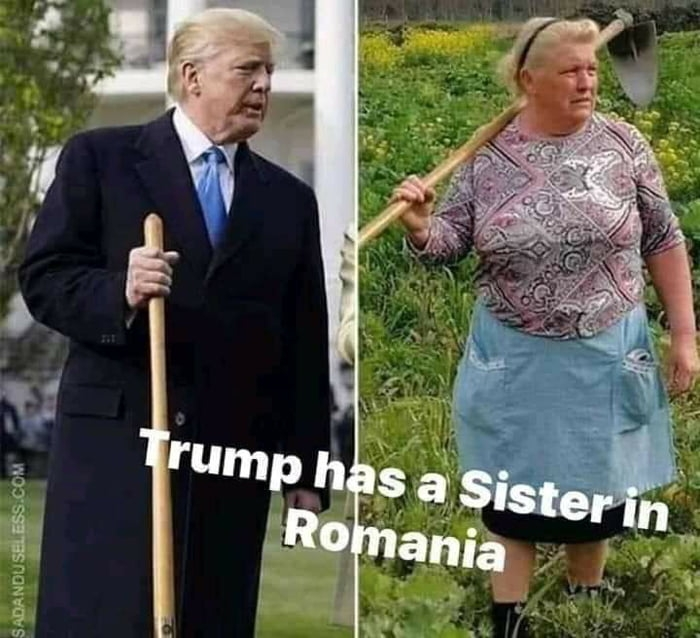 Trump's Romanian sister