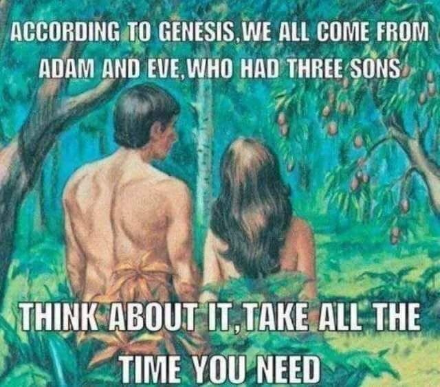 According to Genesis