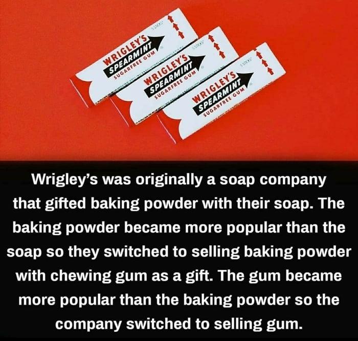 Wrigley's history