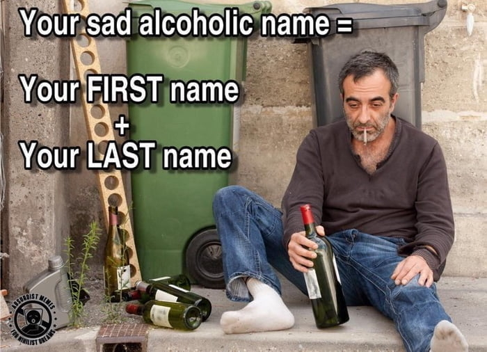Your alcoholic name