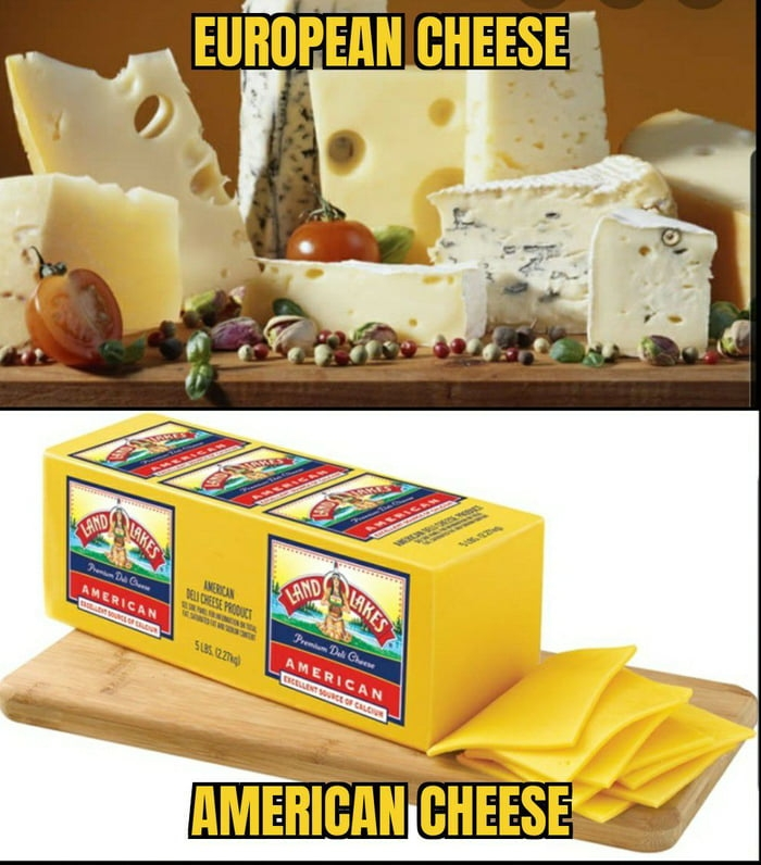 Cheese comparison