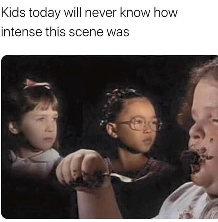 Kids today will never know