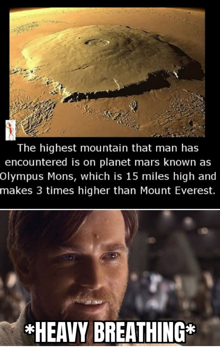 Mount Olympus Mons