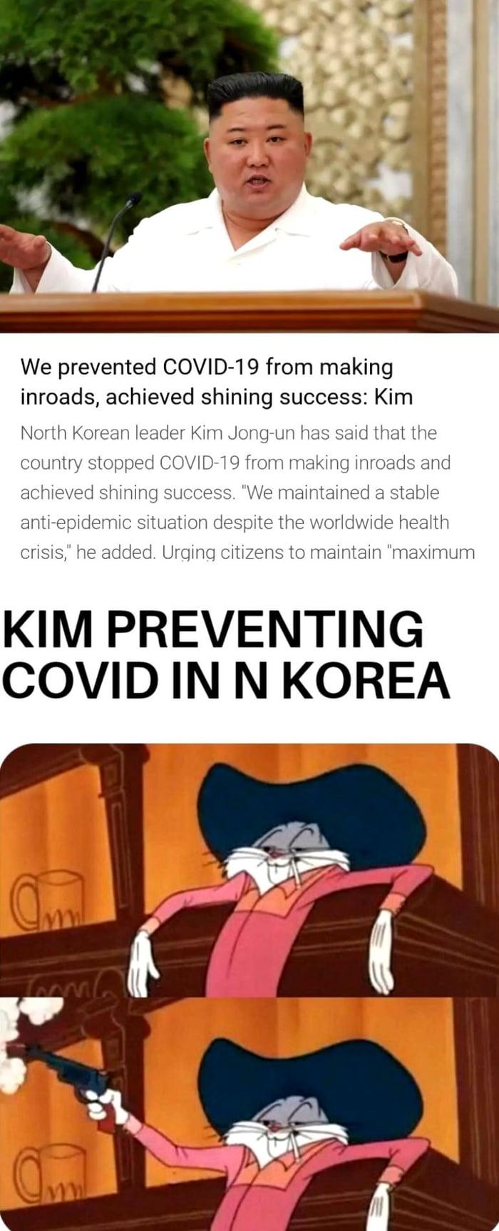 Kim Jong-Un prevented Covid-19 in North Korea