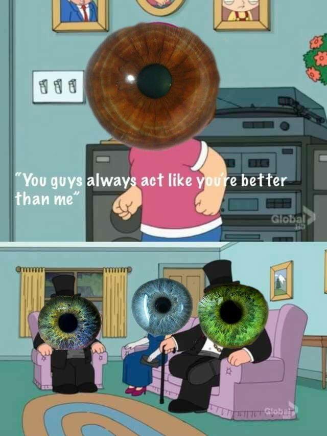 Brown eyes matter