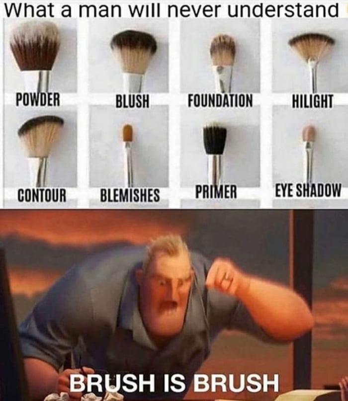 Brush is brush