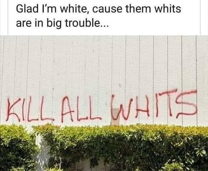 Kill all whits
