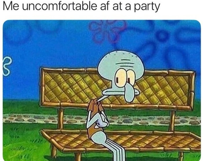 Me at every party