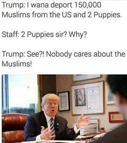 Nobody cares about Muslims