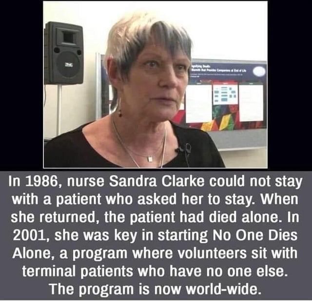 Nurse Sandra Clarke