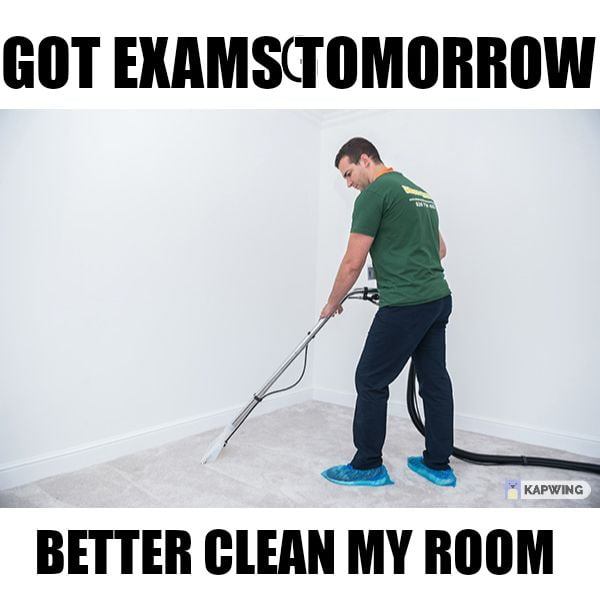 The whole house will be clean
