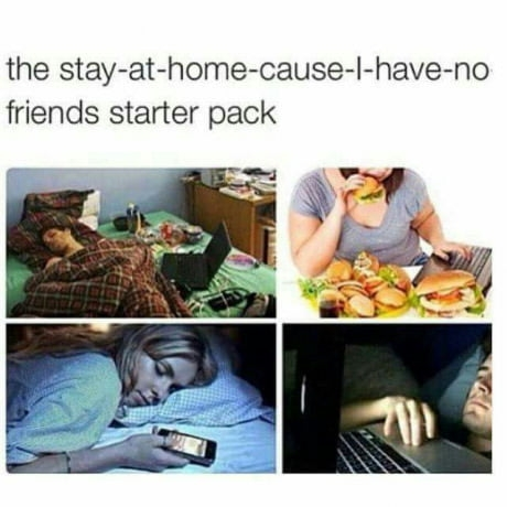 This is my starter pack