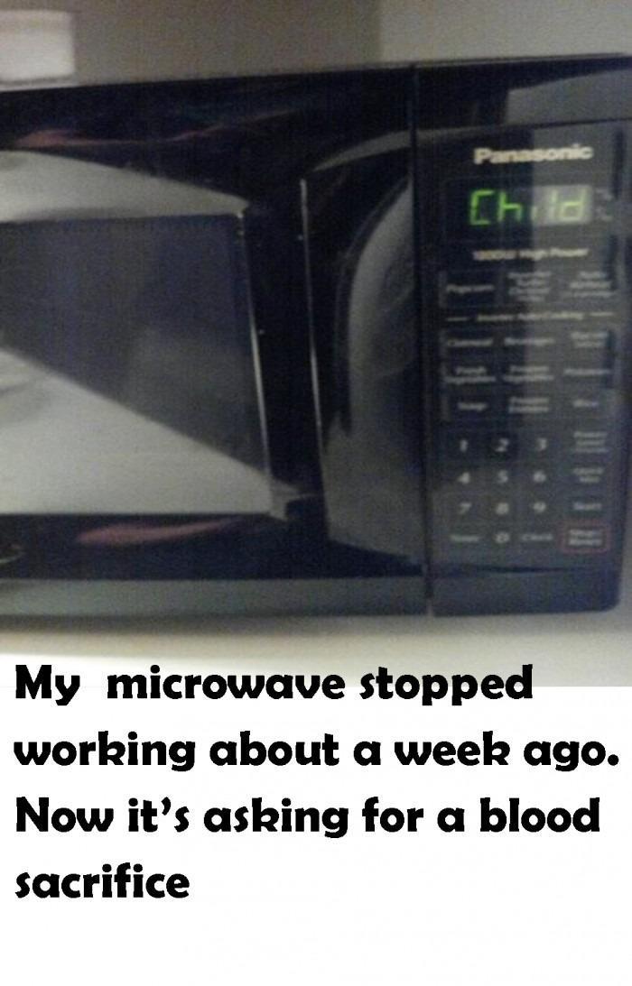 Evil microwave