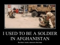 I used to be a soldier