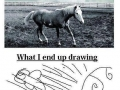 When drawing
