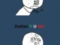 Italian Y U NO