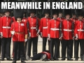 Meanwhile, in England.