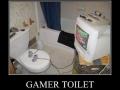Gamer toilet