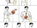 Wallsplat Basketball Facepalm