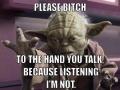 Yoda the Master