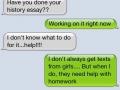 I don't always help