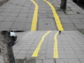 Bike lanes with surprises
