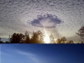 Mother nature at work