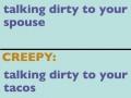 Normal VS. Creepy