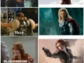Avengers before & now