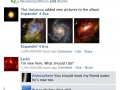 The universe on facebook