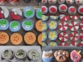 Some cupcakes