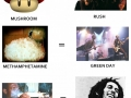 Songs and drugs effects