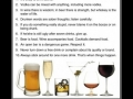 10 Rules of Boozing