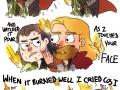 Thor hugging Loki