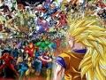 Western Superheroes VS. Goku